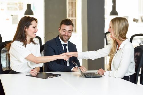 entretien d'embauche avec Jobtimise